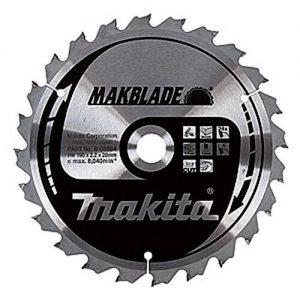 diamètre de lame de scie radiale Makita